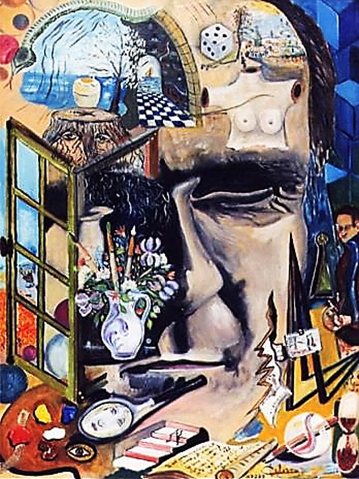 """""""Autoportrait"""" Louis Delorme"""