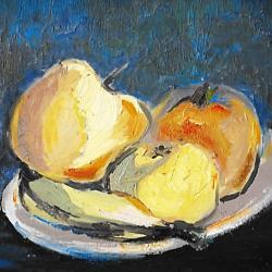 """""""Des pommes et une banane"""" JCG"""