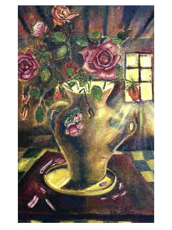 """""""Bouquet de roses clair"""" Louis Delorme"""