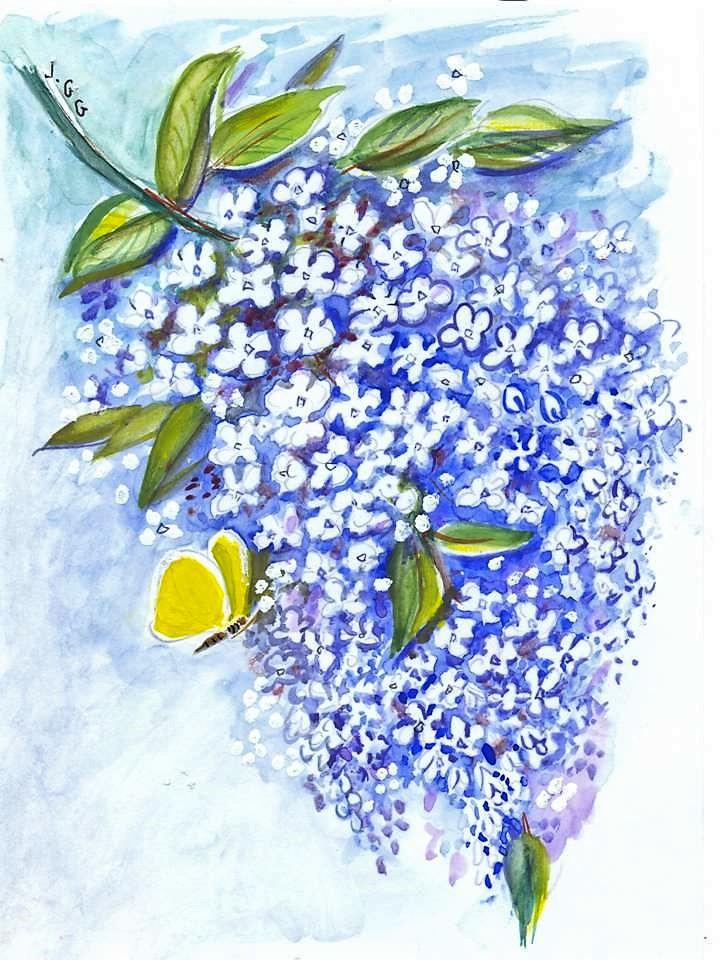 """""""Lilas"""" Jeanne CHAMPEL GRENIER"""