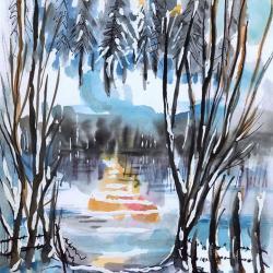 """""""Augures"""" Jeanne CHAMPEL GRENIER"""