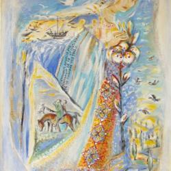 """""""Angeli Dei  Camini"""" (Inspiration fresques du quattrocento)"""