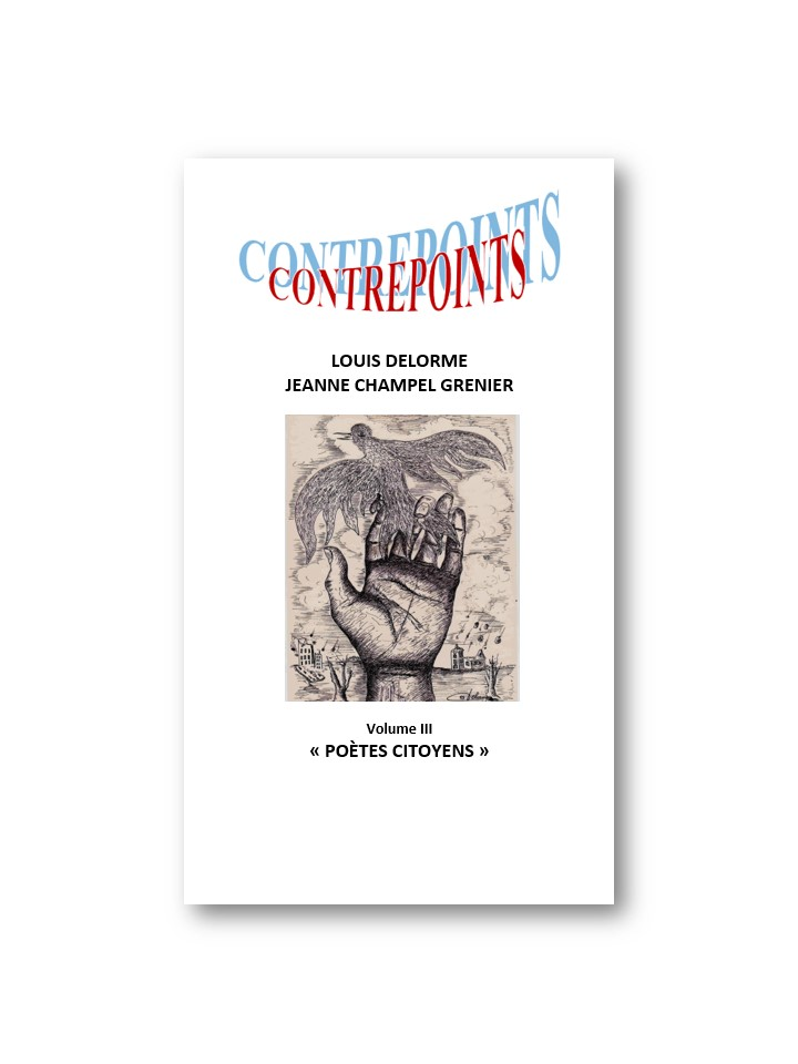 "CONTREPOINTS ""Poètes citoyens"" VOLUME III"