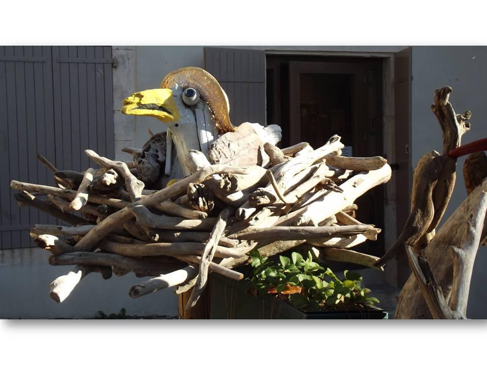 """""""Oiseau au chapeau 1"""" Fabien GRENIER"""
