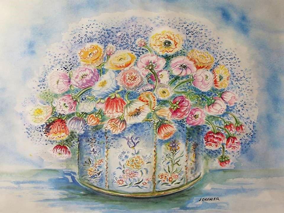 """""""Bouquet rond"""""""