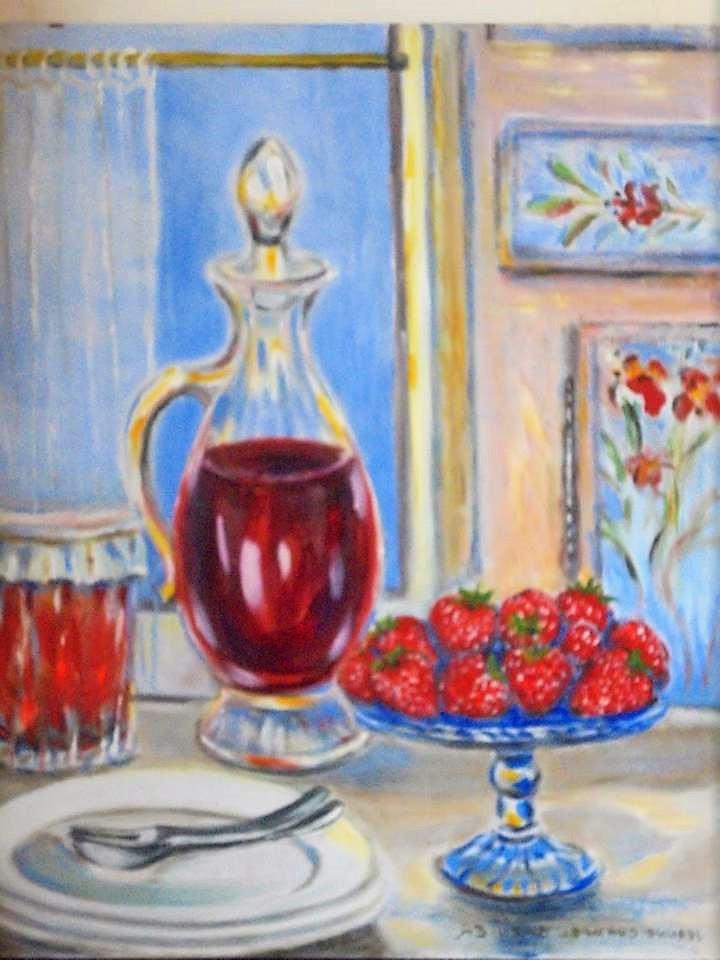 """""""Carafe aux fraises"""""""