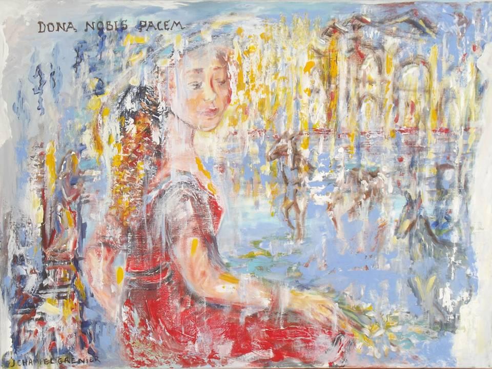 """Dona nobis pacem"" (Inspiration fresques du quattrocento)"