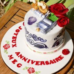 Gâteau Tatouage