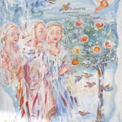 """Fromenti multiplicati"" (Inspiration fresques du quattrocento)"