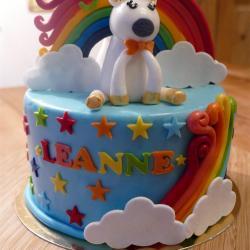 Gâteau Bébé Licorne