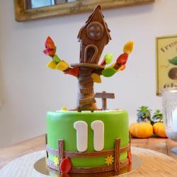 Gâteau cabane