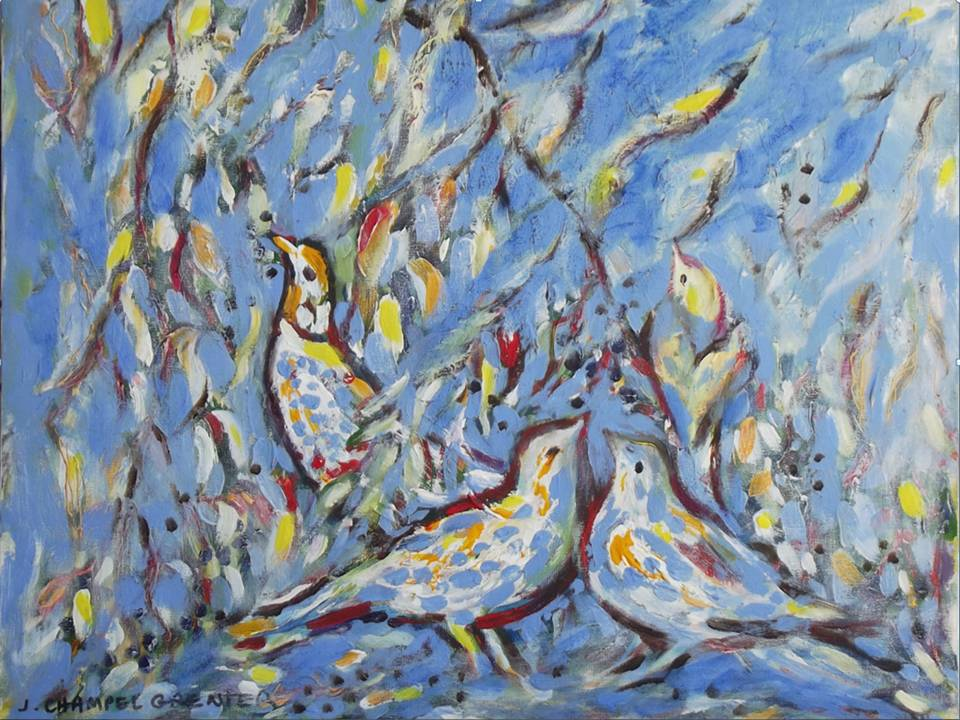 """""""La Manne"""" (Inspiration fresques)"""