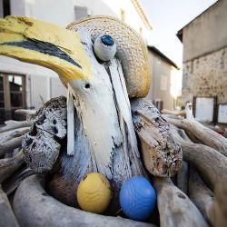"""""""Oiseau au Chapeau 2""""  Fabien GRENIER"""