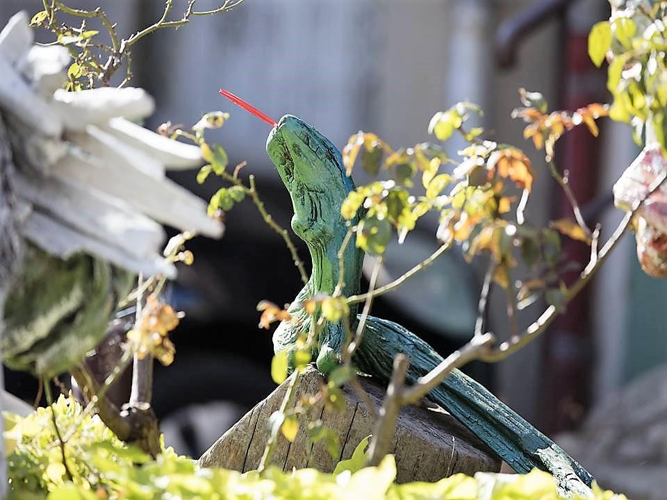 """Serpent vert"" Fabien GRENIER"