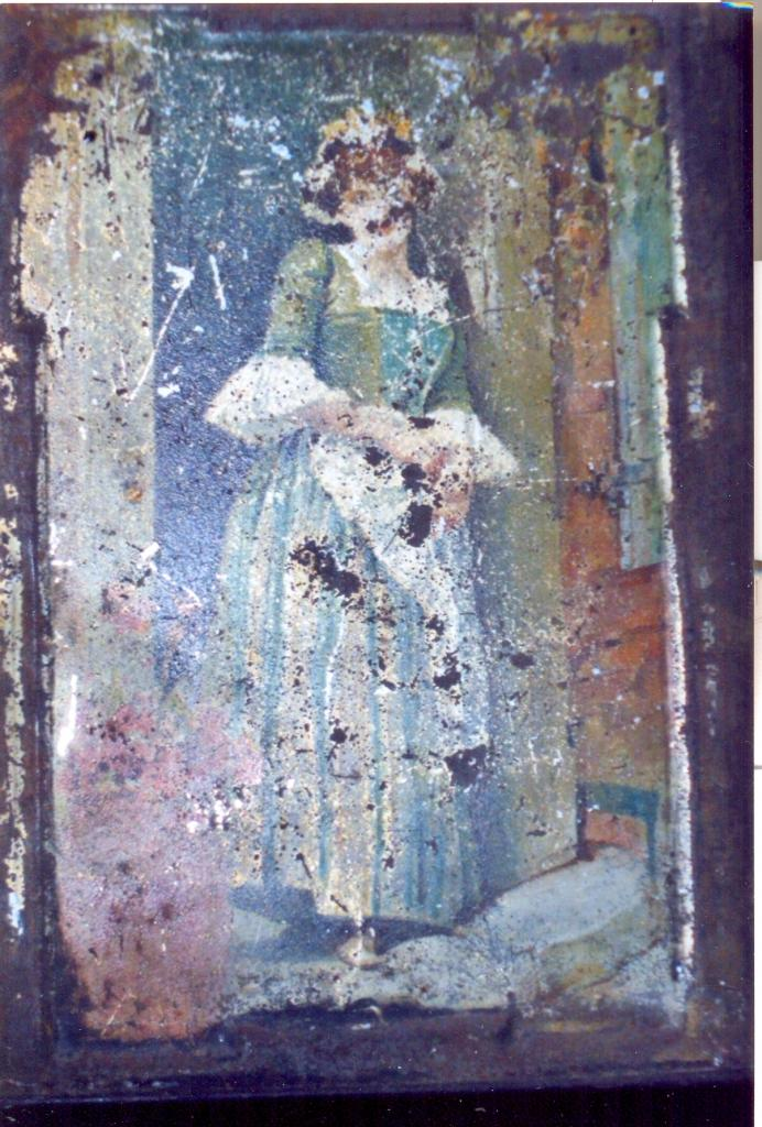 """""""Présence secrète"""" (Inspiration fresques)"""