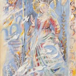 """Virgo Gloriosa"" (Inspiration fresques du quattrocento)"