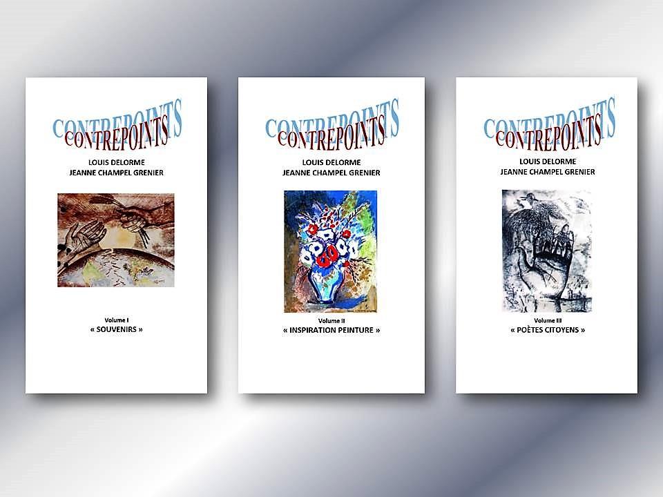 Paru aux éditons France Libris (2018) : CONTREPOINTS EN 3 VOLUMES