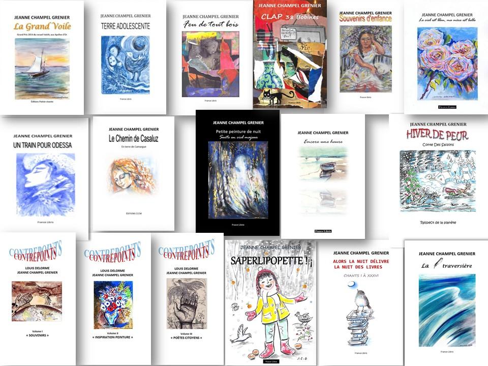 Romans, Nouvelles, Poésie, Albums Jeunesse...