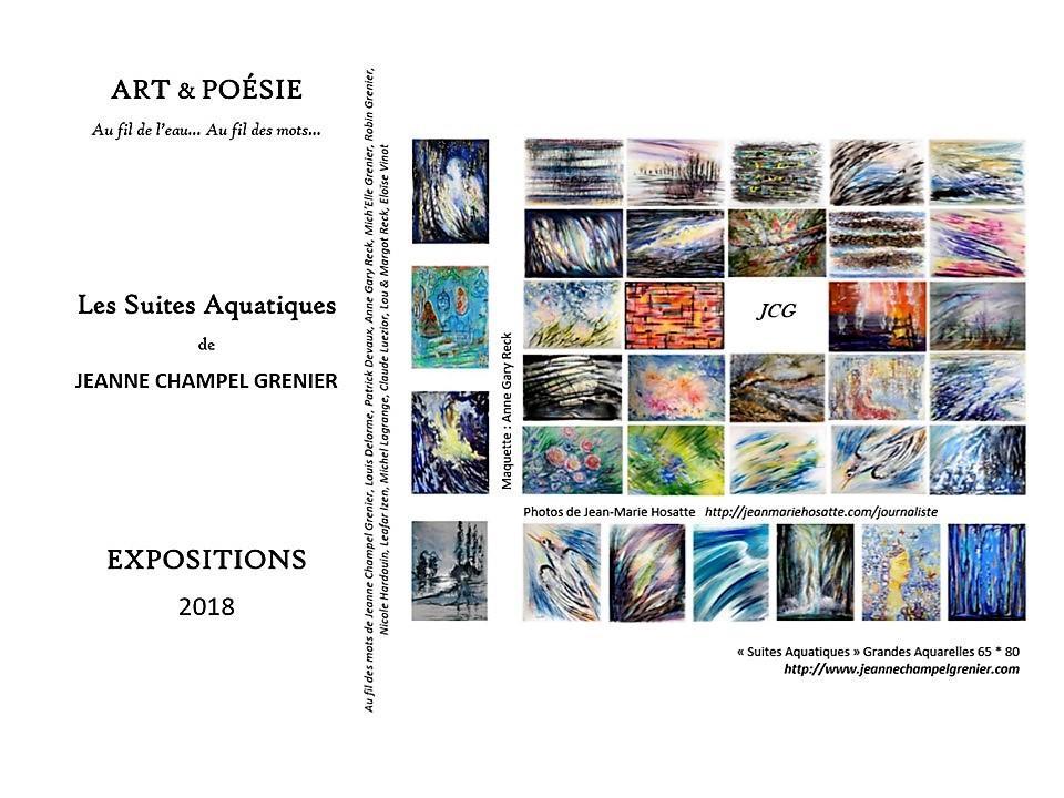 Suites Aquatiques Jeanne CHAMPEL GRENIER