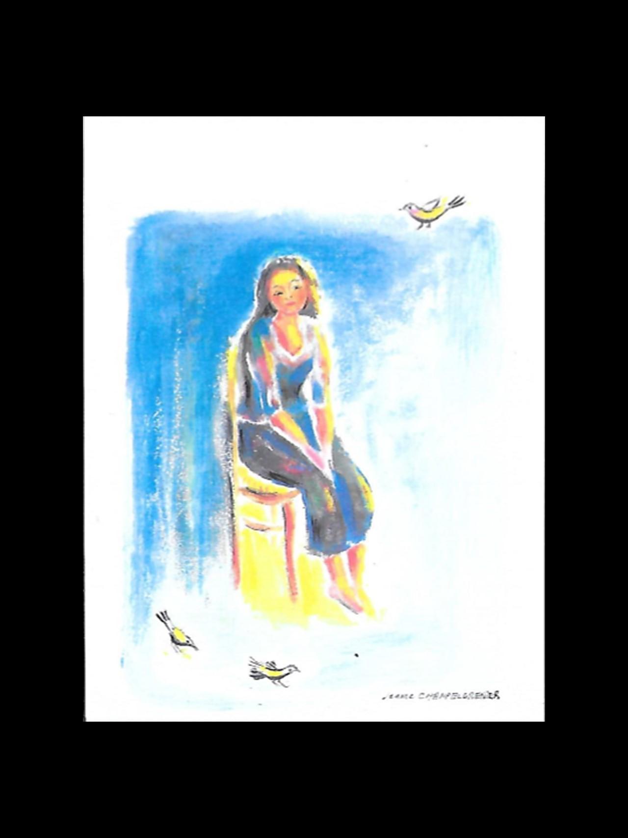 aquarelle Jeanne Champel Grenier